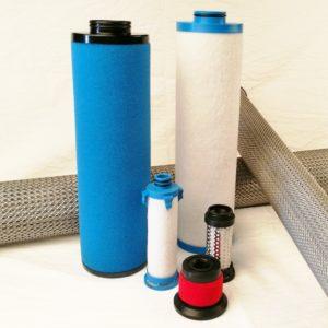 Druckluft Filter Elemente